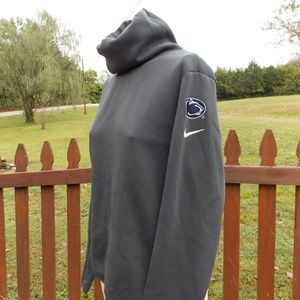Nike Dri Fit Cowl Neck PENN STATE Pullover Medium